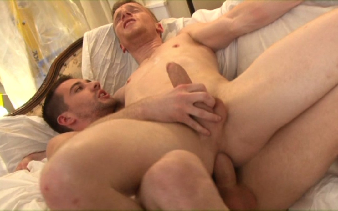 Blond boy in needs of cock