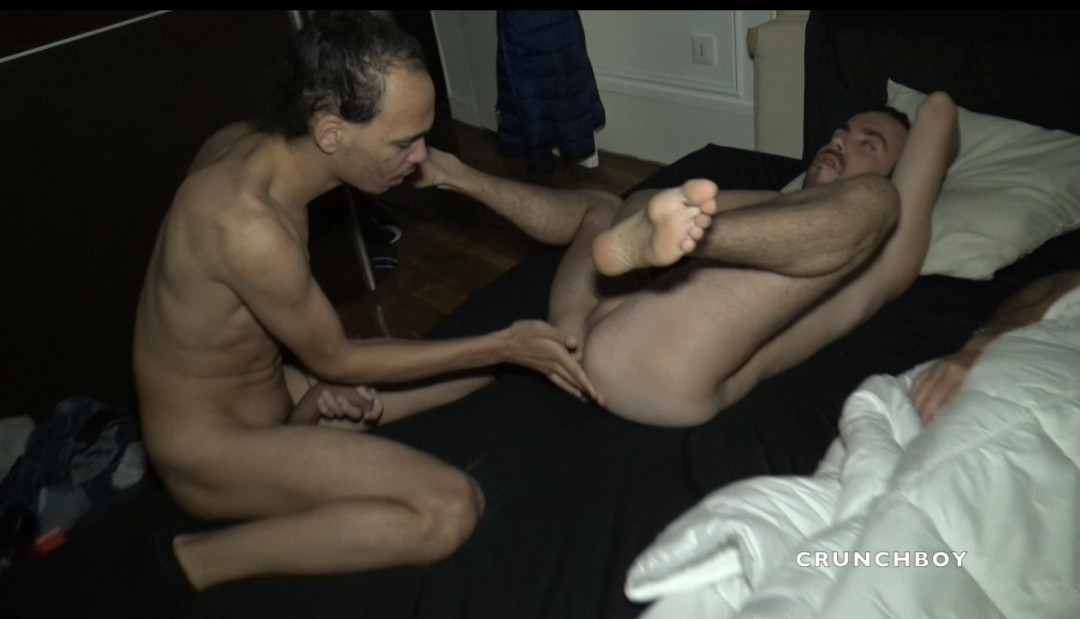 KEVIN WOOD fucked by AYDEN next to her sleeping man.