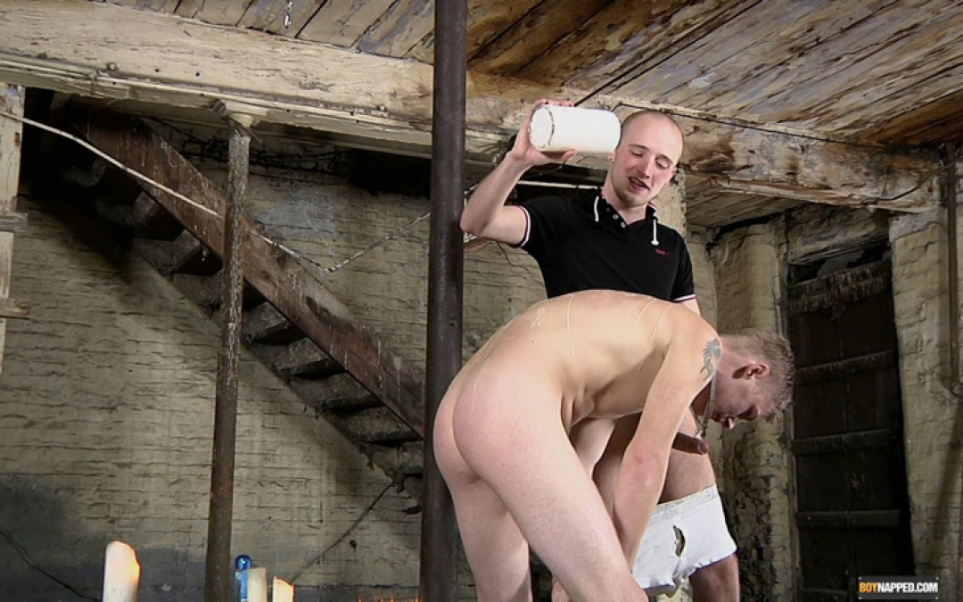Straight Boy Leo Gets Wanked Over