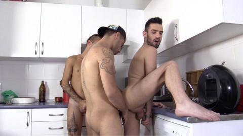 Petit déjeuner de queues