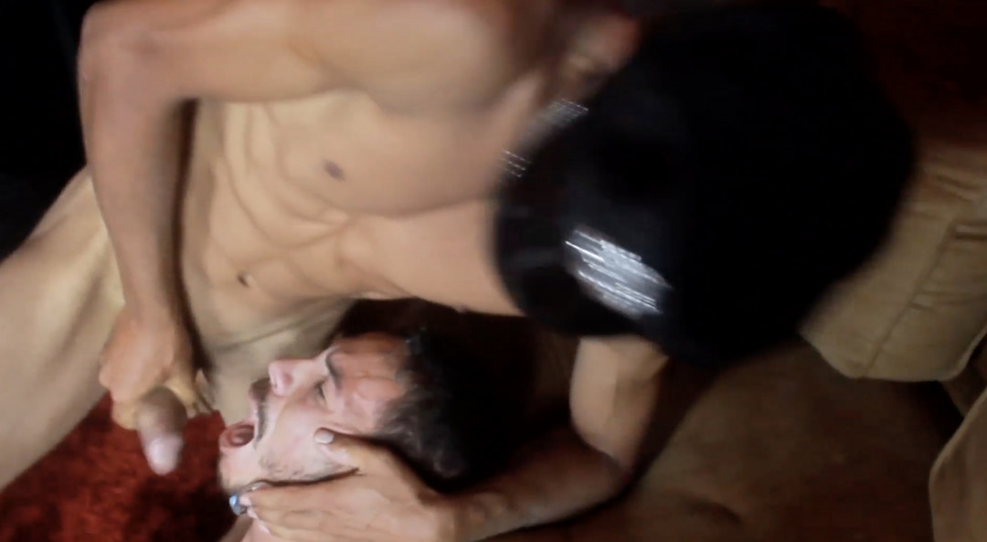 The prisoner becomes a gay cum dump