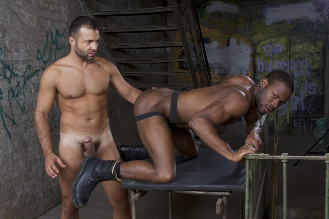 Malik TN rides a muscled black pussy