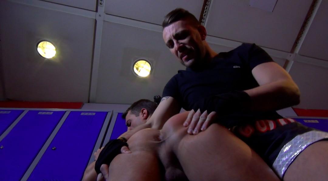 Dilate my ass in the locker room