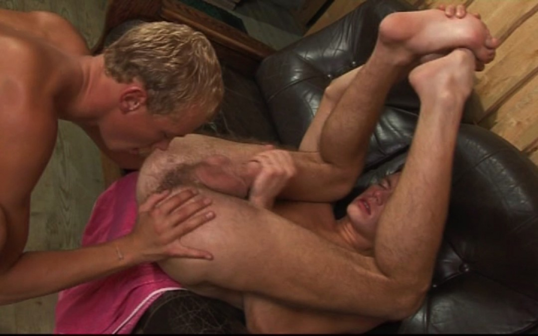 Young and wild boys play anal game