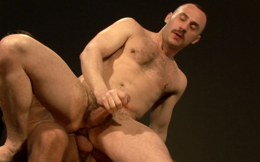 Being pounded by the hottest gay daddy