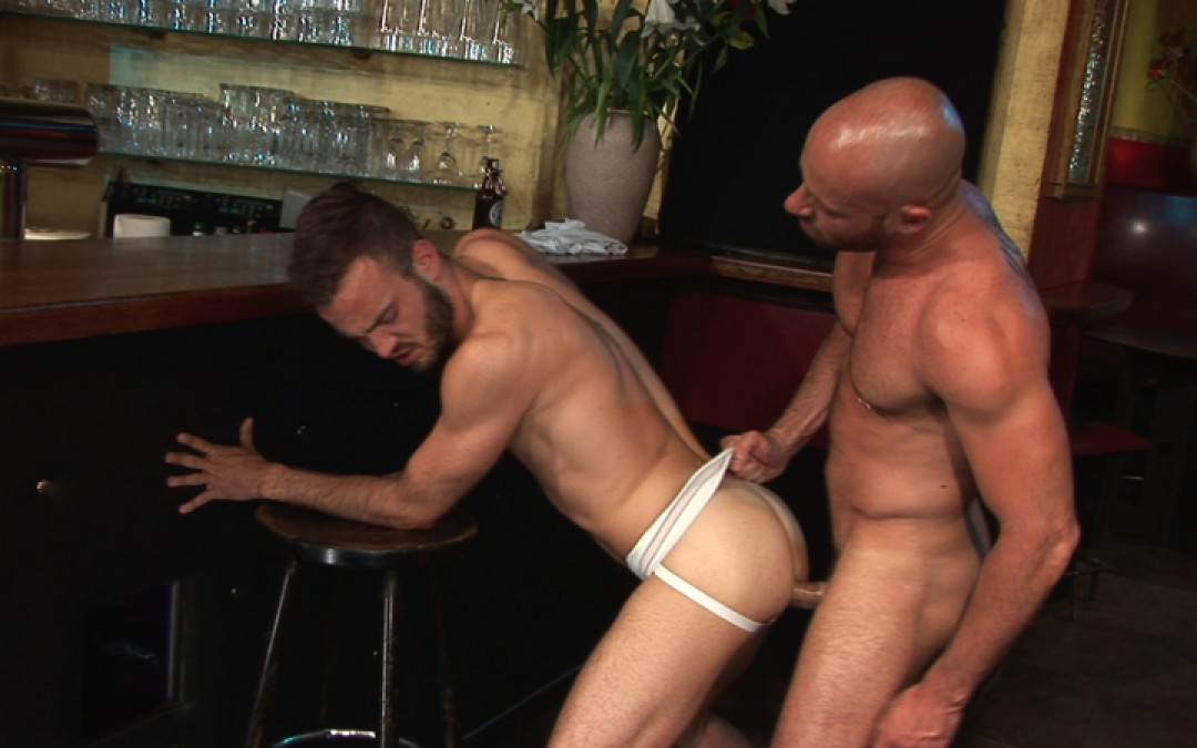 Young tourist's ass for German hunk