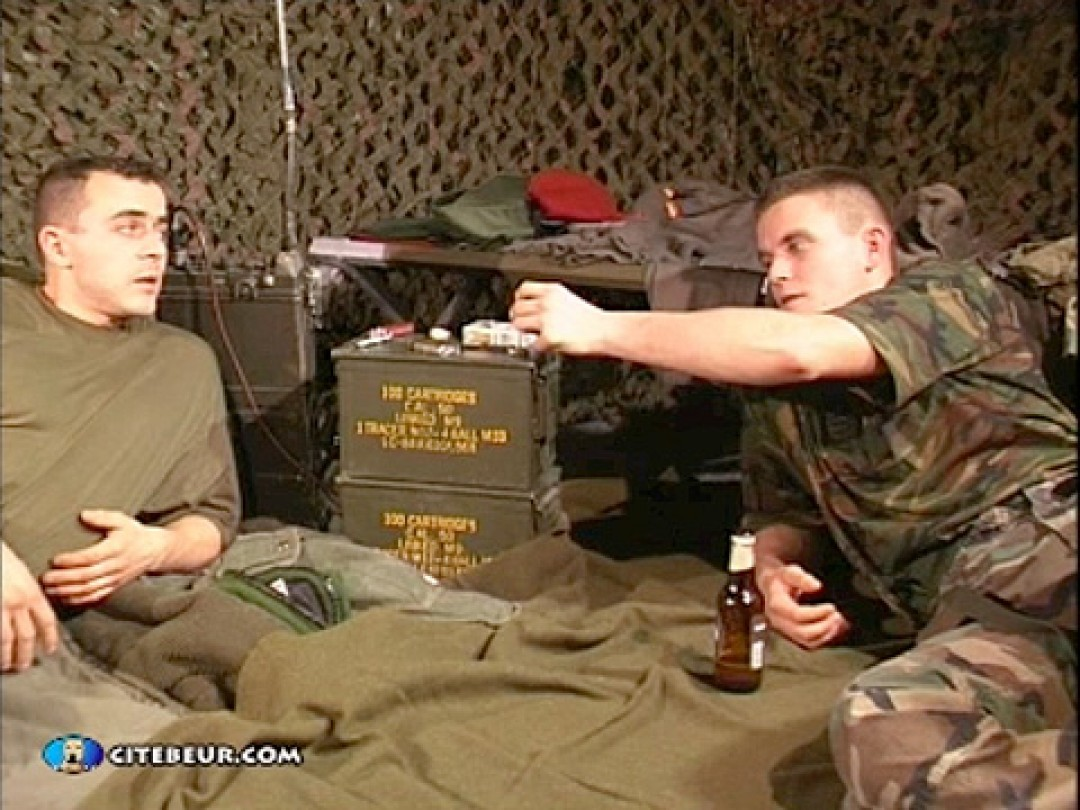 ARMY BOYS FUCK A DOLL