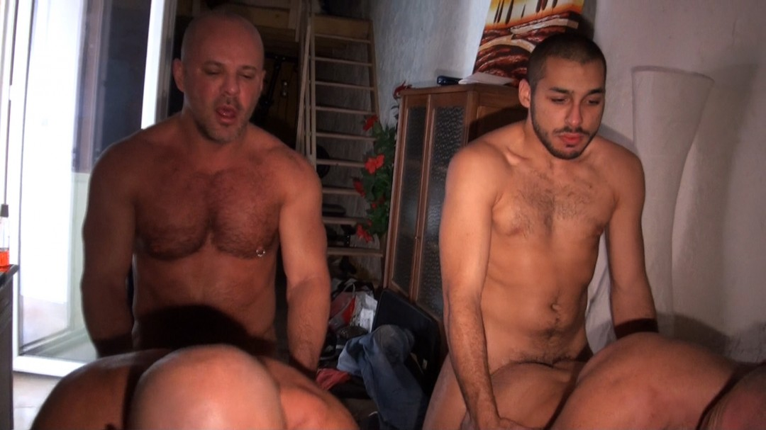 Bear orgy with Carlo Cox