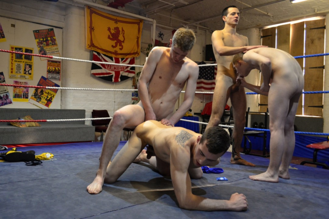 Three Against One ? Recruit Hazed in the Ring