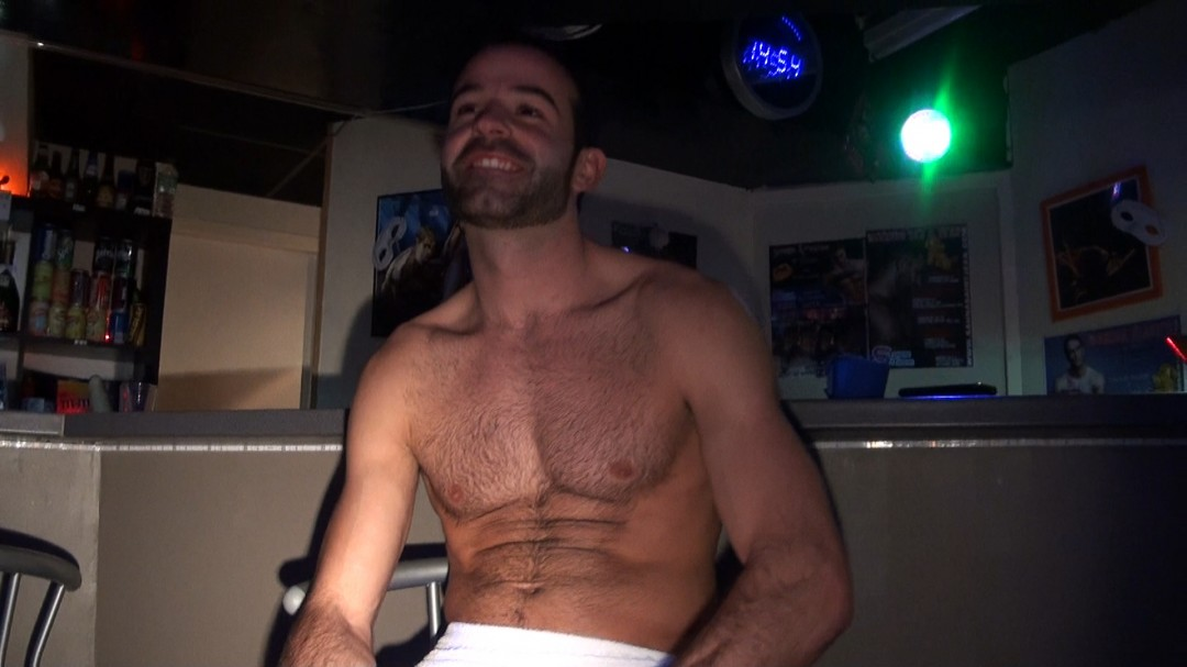 PEDRO PALIZA at the live porn show at the sauna in Bordeaux