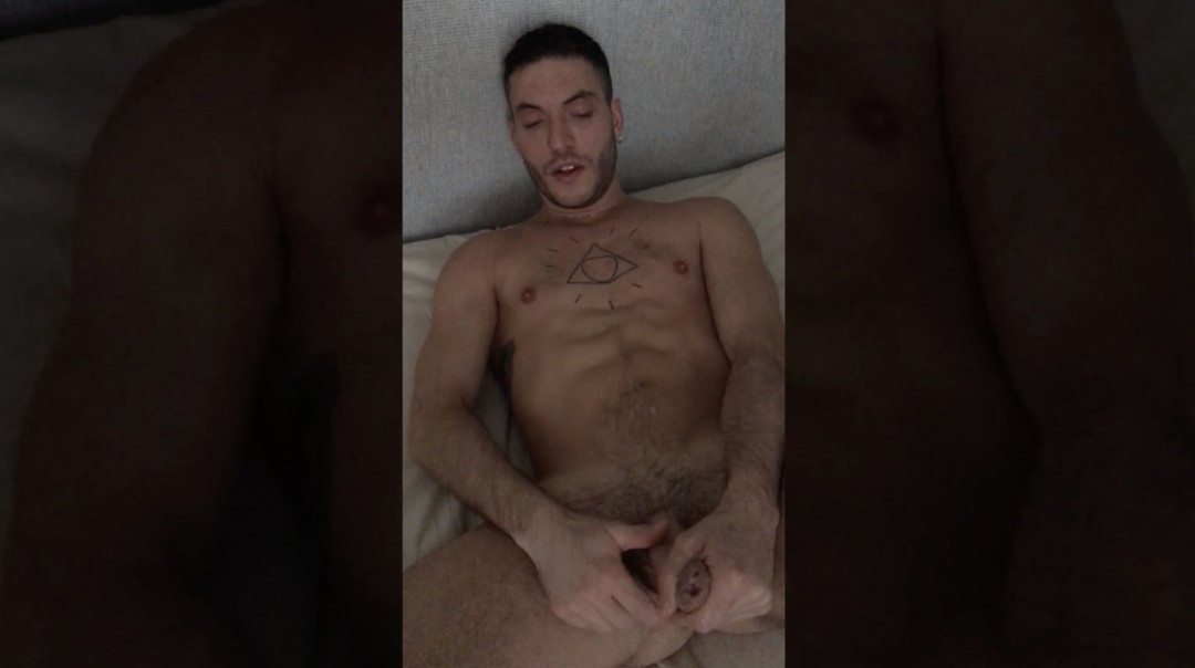 Rico Fatale's double jerking off