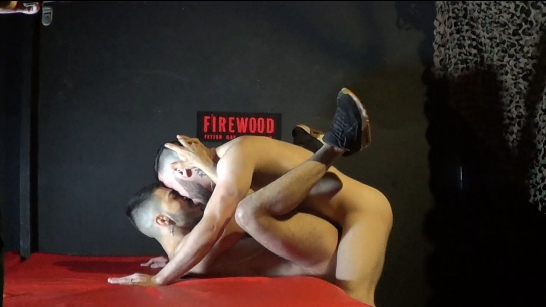 Backstage cam, twink fuck in the Firewod cruising