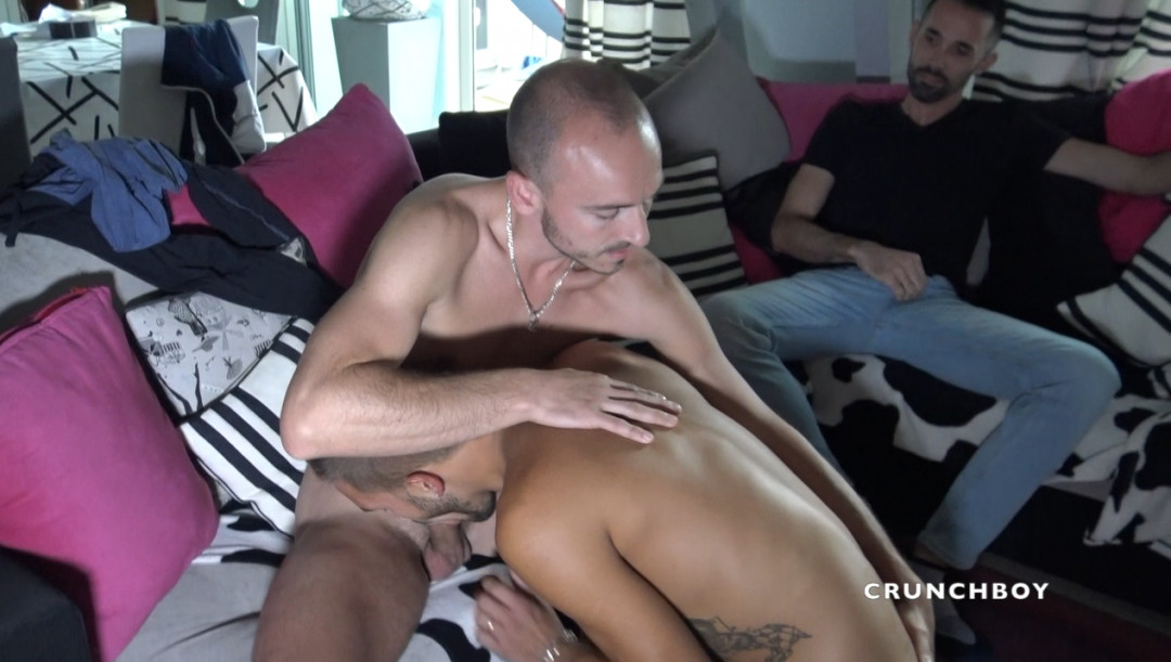 KEVIN ASS fucked by JAMES KAMUI and his buddy