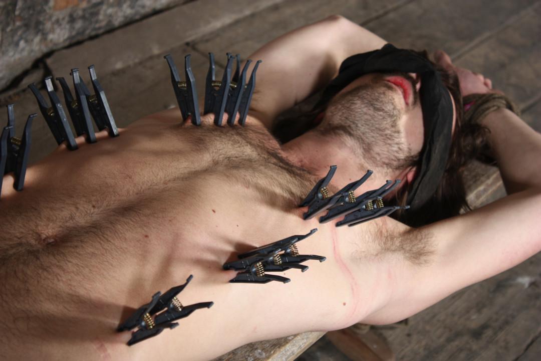 My gay bearded slave