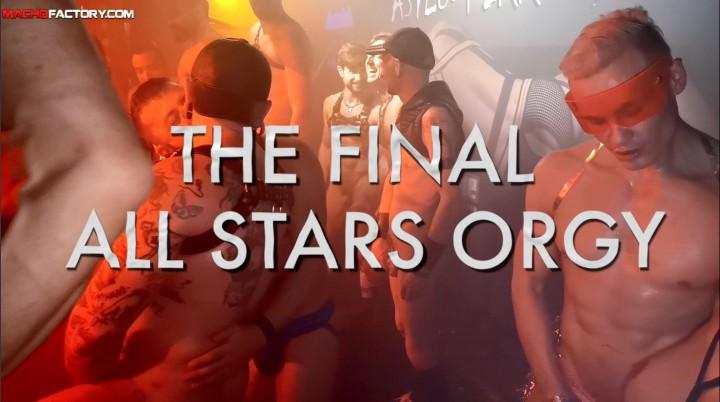 ALL STARS ORGY BUKAKE