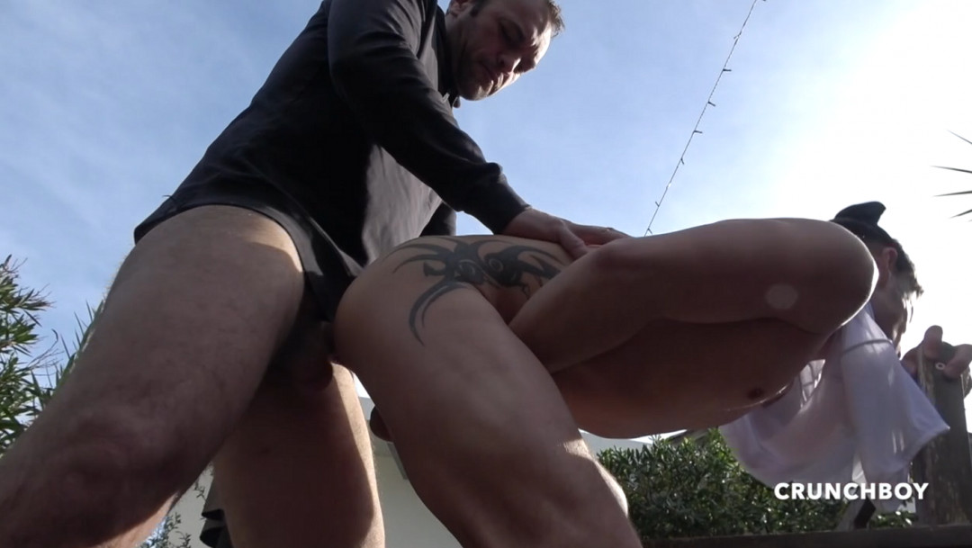 MICKEY gets his ass kicked by FRED's big cock