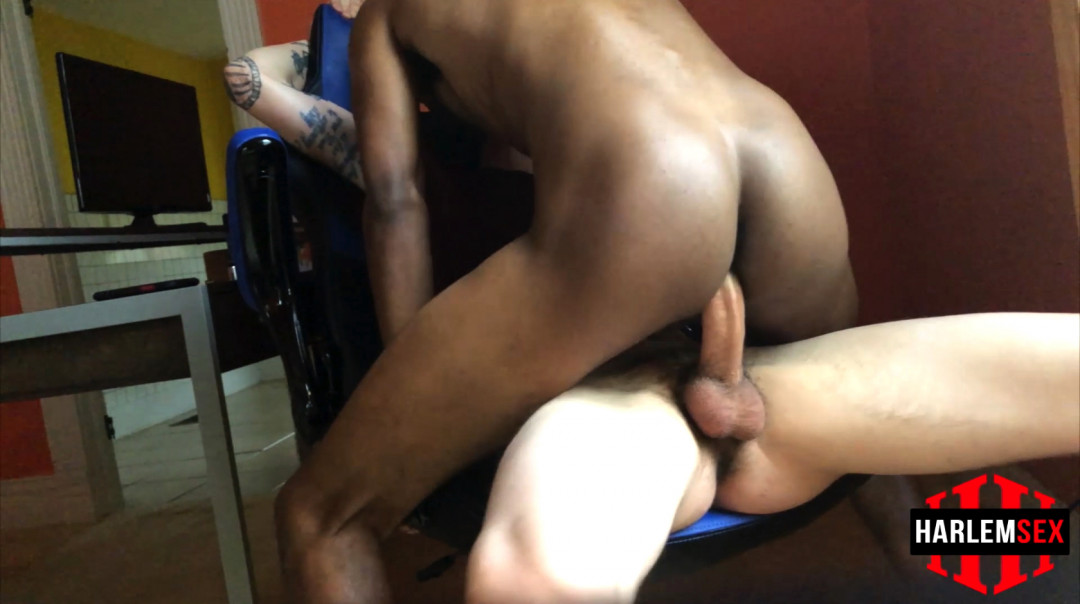 Bareback Edge, interracial gay sex