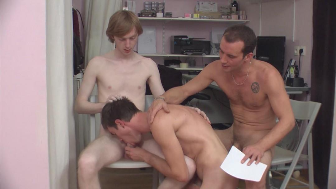 Minets initiés au casting porno