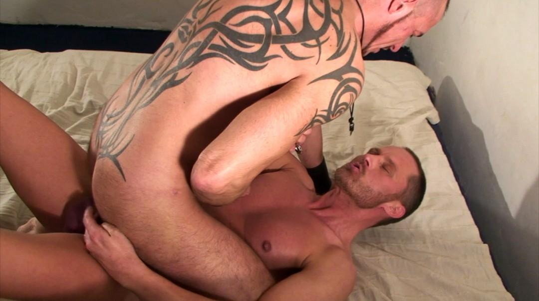 Pierced stud in orgy