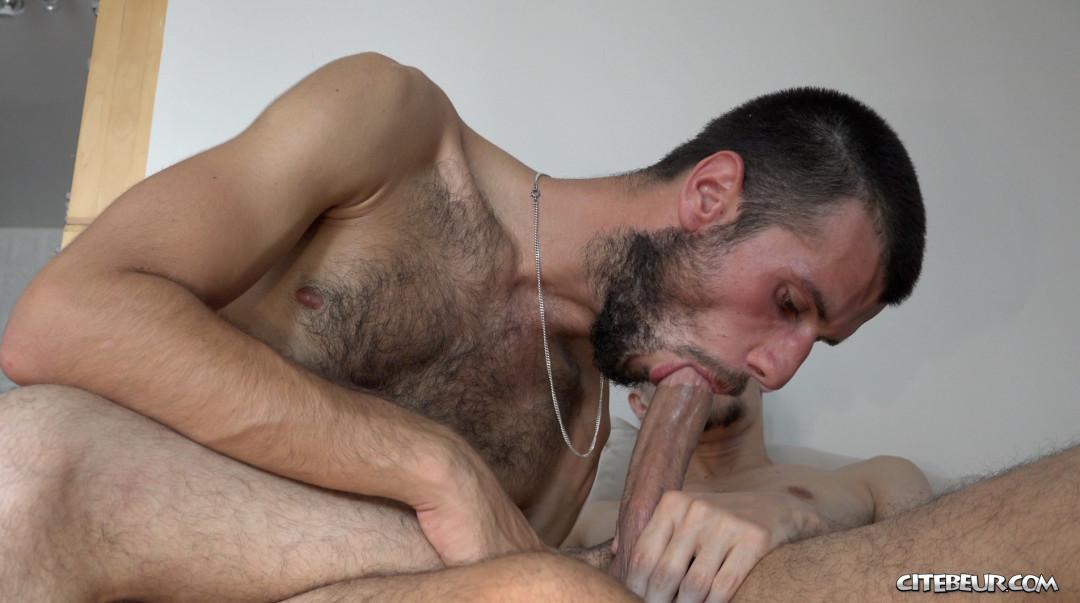 mec viril suce grosse bite de rebeu