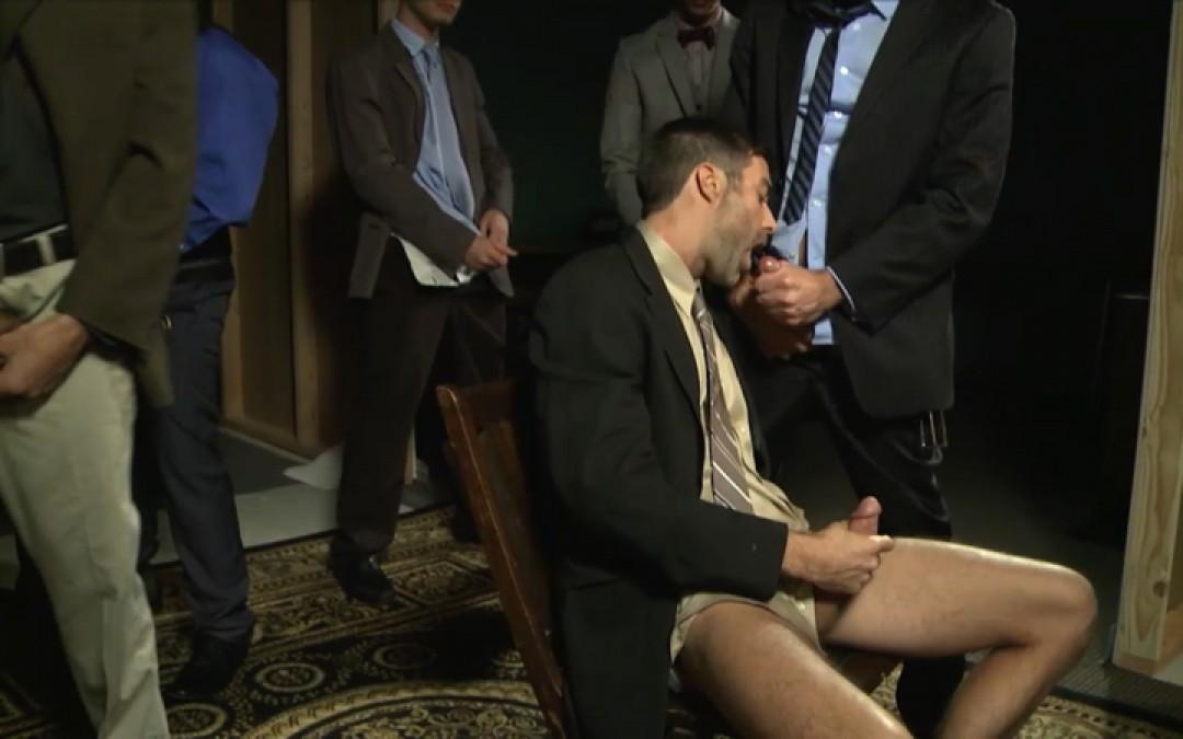 Businessman's ritual