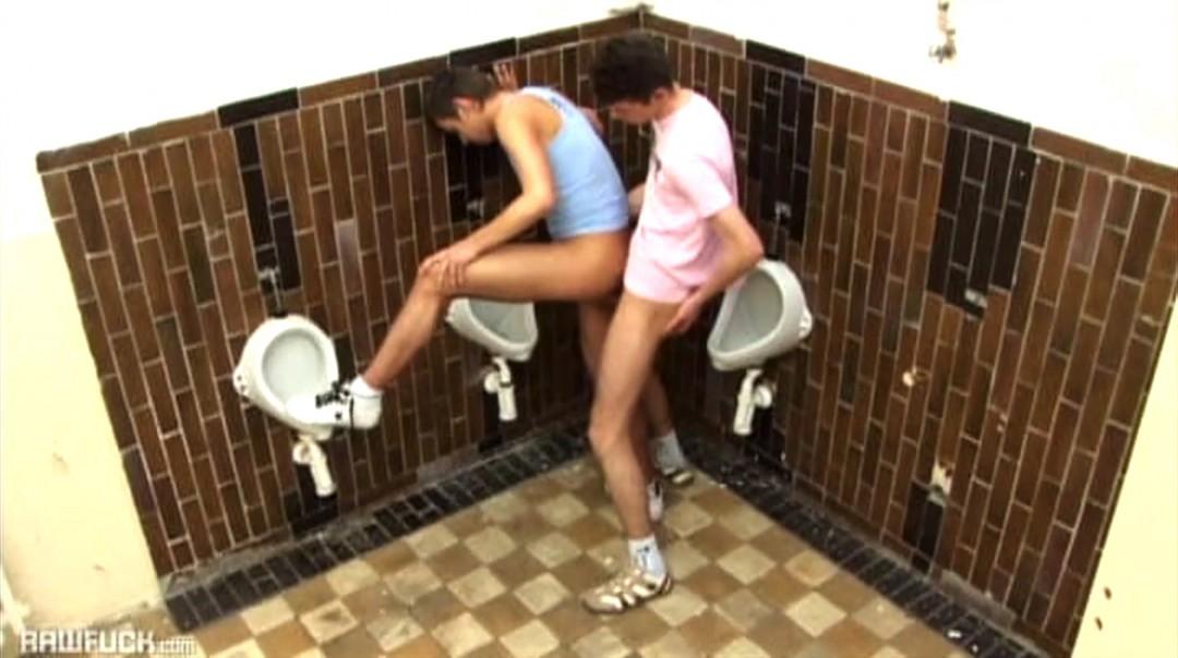 Hardcore Highschool Urinal Action
