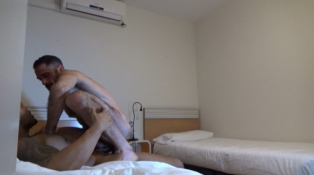 Webcam backstage Bairon HELL fucked bareback by VIKTOR ROM