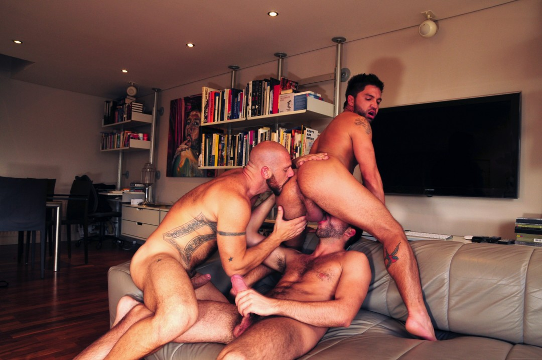 Alpha males gay orgy