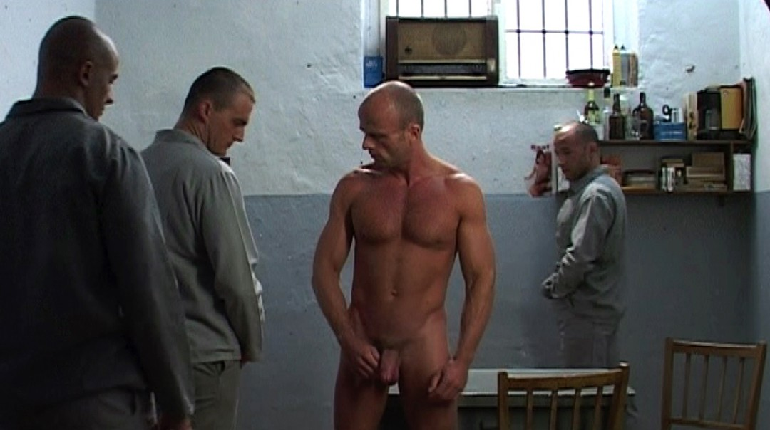 FUCKED BY THREE PRISONERS