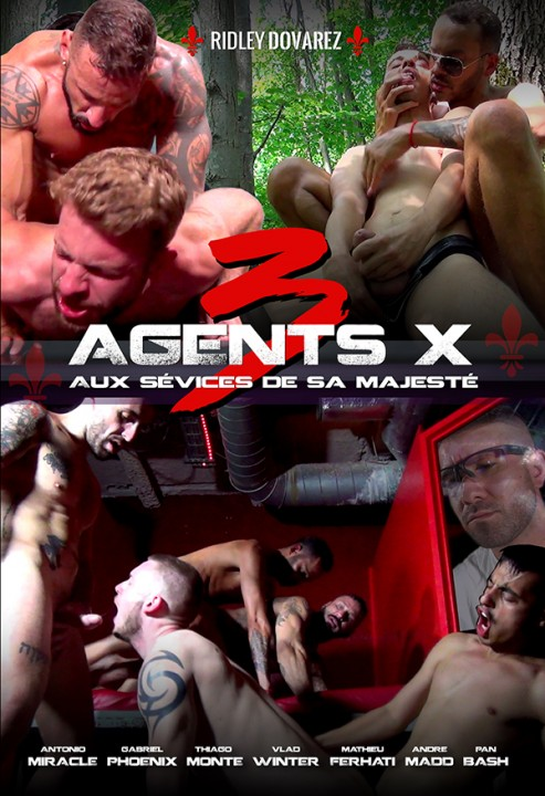 Agents X 3 - The abuse of Majesty