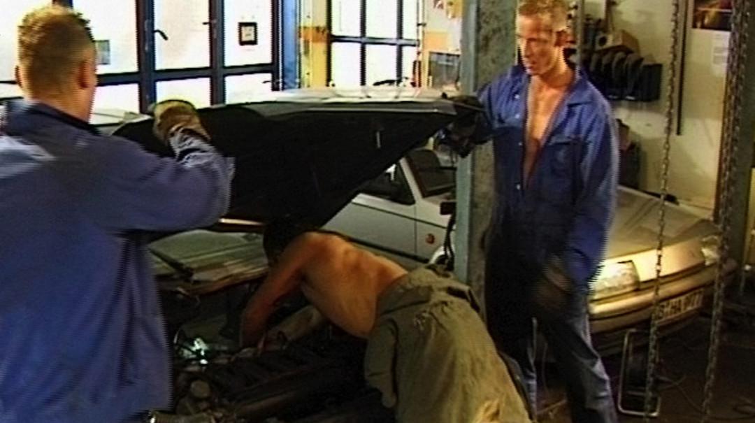 Repair the car and we'll break your ass!