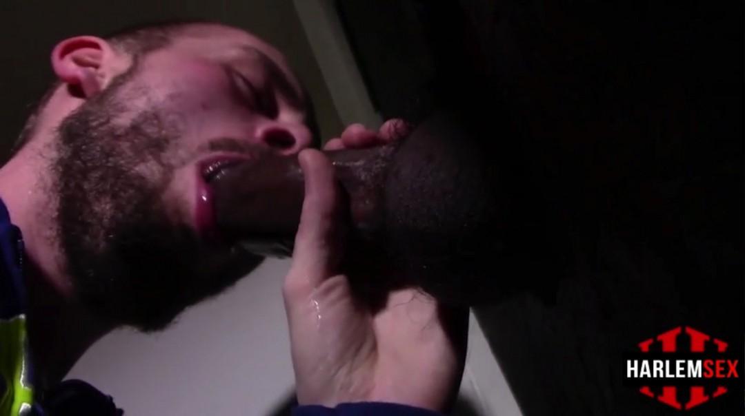 Blow-job through the hole