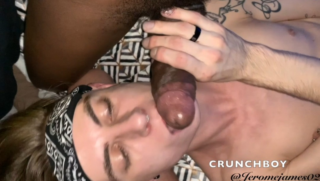 jerome JAMES sucks tbm in glory holes and gets dosed
