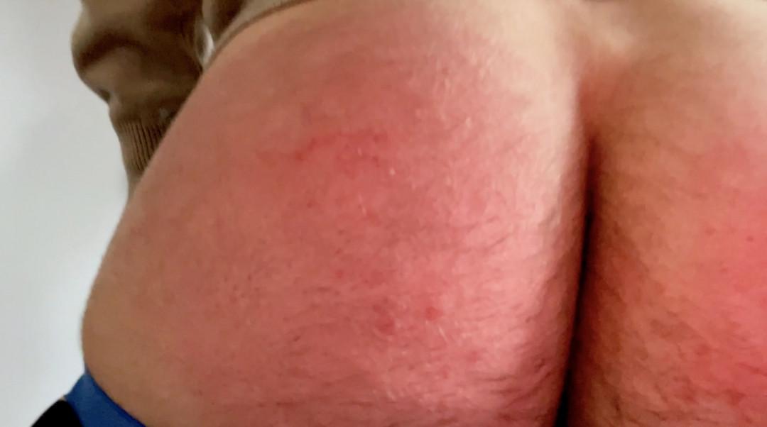 Amaury Evan's spanking