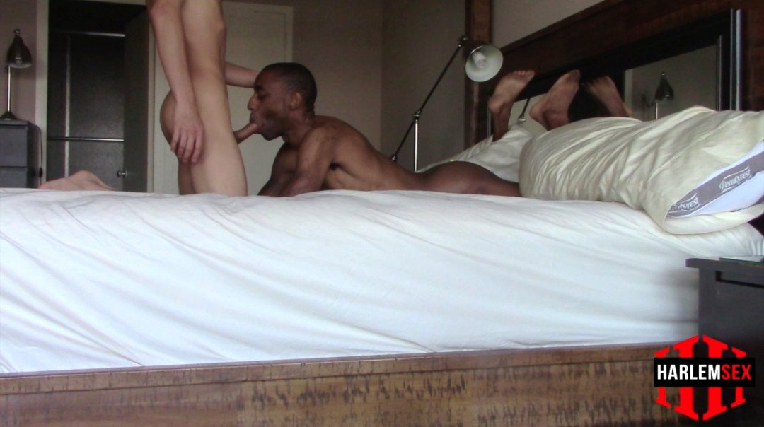 My black gay porn video with a twink