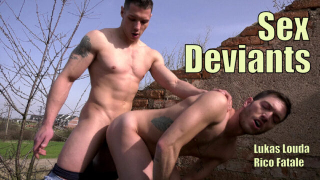 Sexy gay boys in outdoors gay sex / Sex Deviants