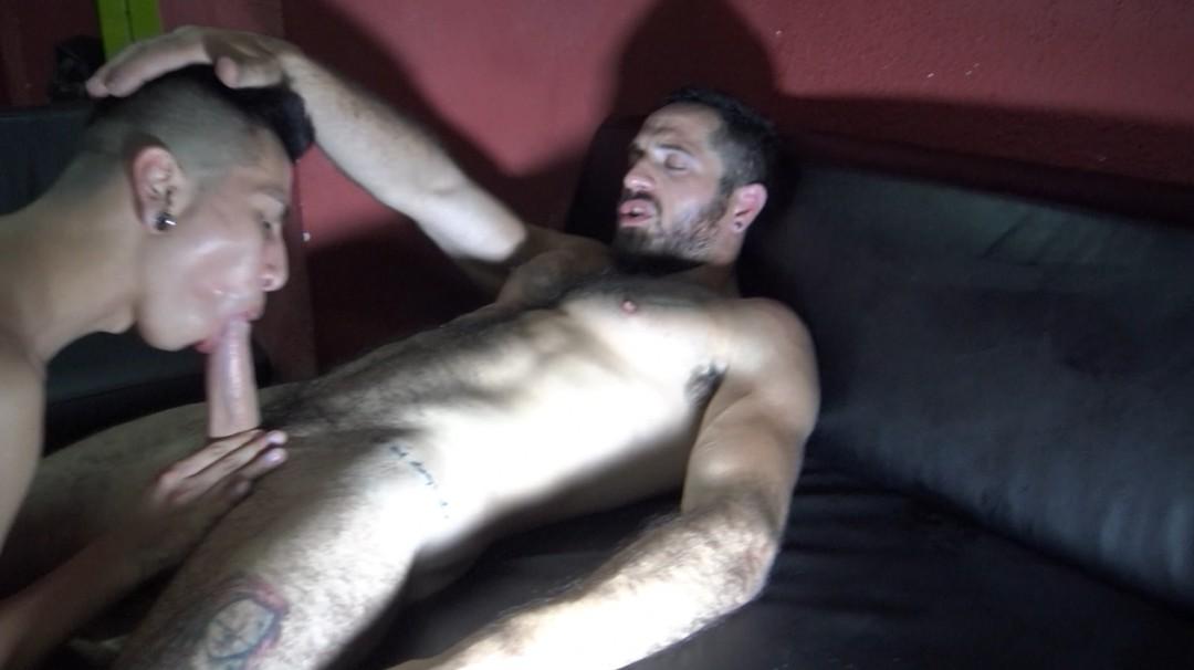 Bairon HELL fuck and fucked bareback by latino twink Alejandro RUBIO