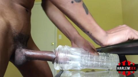 L18845 HARLEMSEX gay sex porn hardcore fuck videos black bbk deepthroat papi thug cum 011