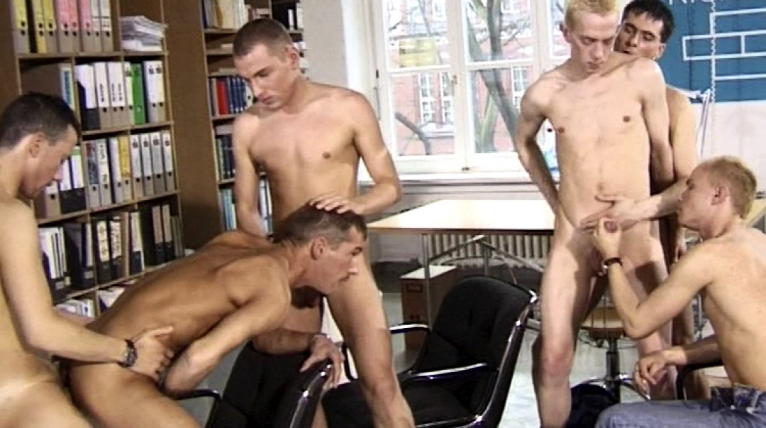 Group of young sex-addicts