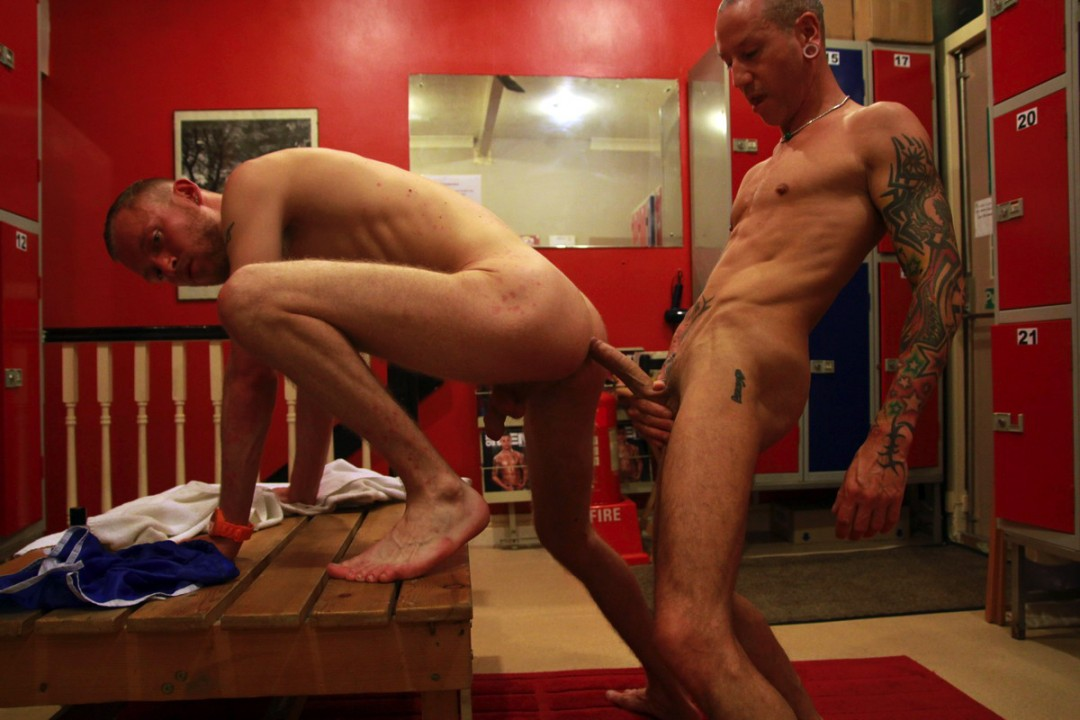 Three-ways in changing room