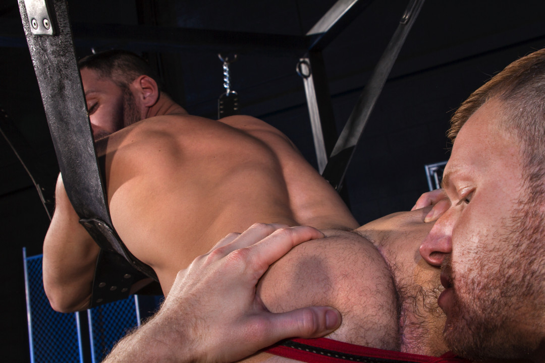A long night to pound this muscular gay ass