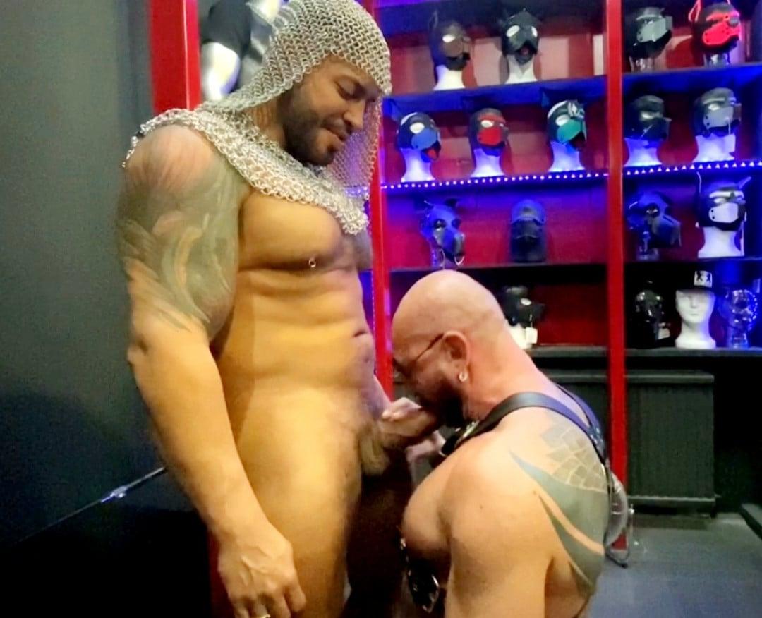We found a gay cumdump in a gay store