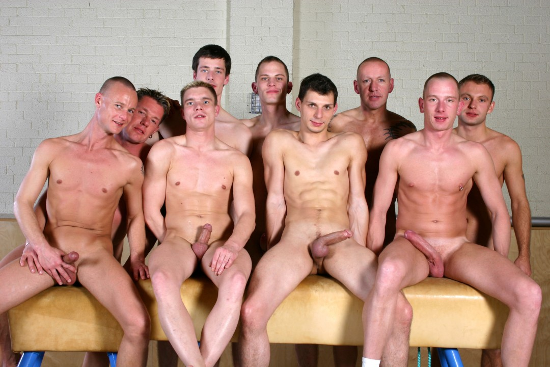 EIGHT GYMNAST FOR FUCK-PRACTICE