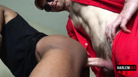 L18694 HARLEMSEX gay sex porn hardcore fuck videos bbk bareback deepthroat cum load xxl cock blowjob slut 009