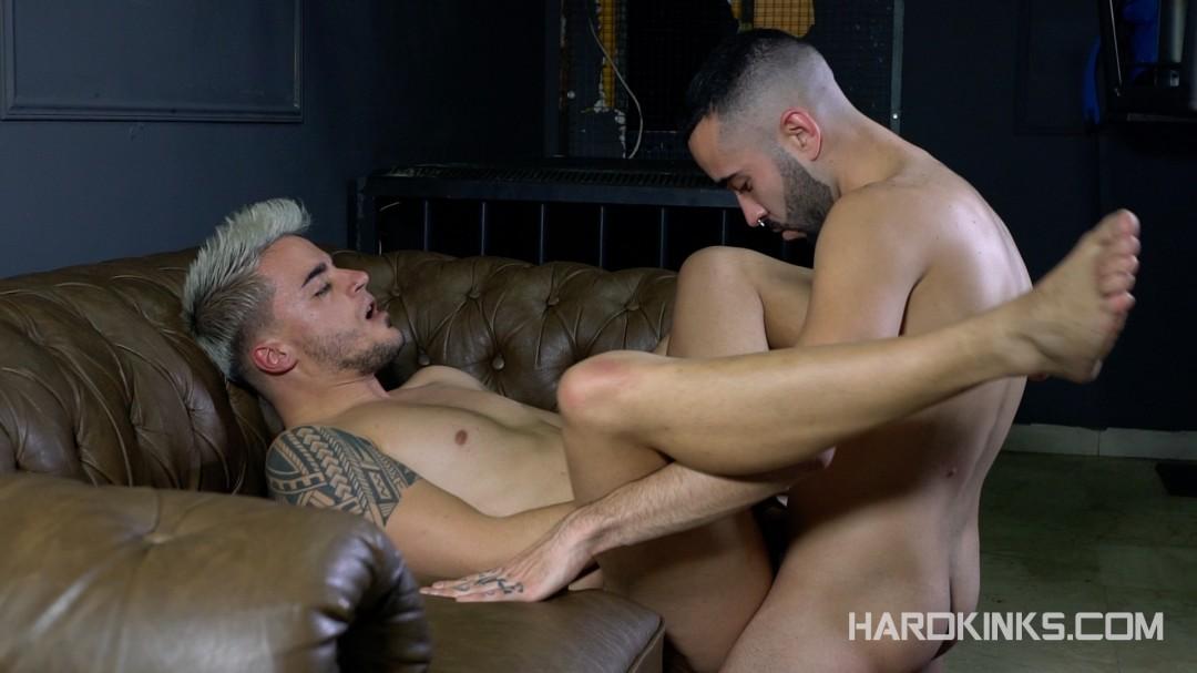 Rafa Marco sexually abuses his gay slave